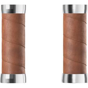 Brooks Slender Leather Grips, marron marron