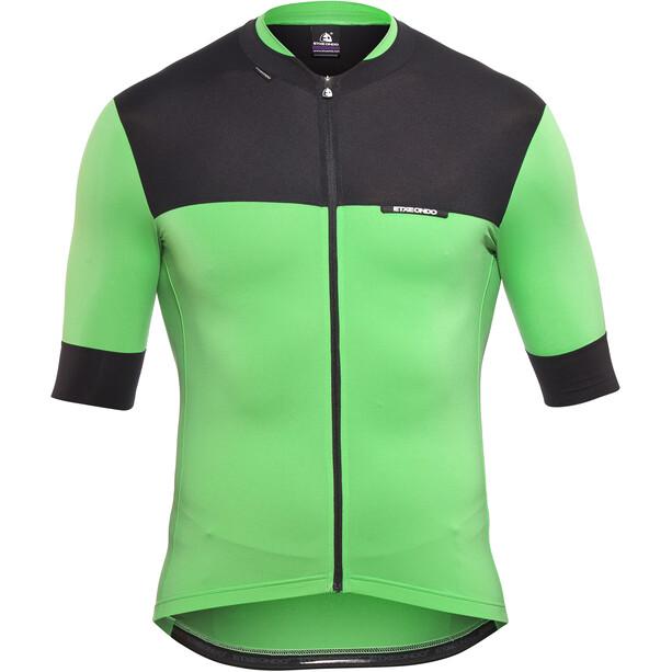 Etxeondo Rali Kurzarm Trikot Herren green-black