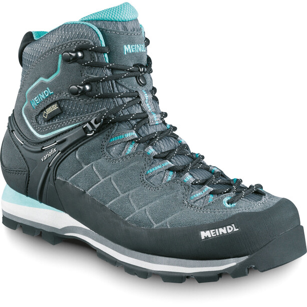 Meindl Litepeak GTX Shoes Dam anthracite/turquoise