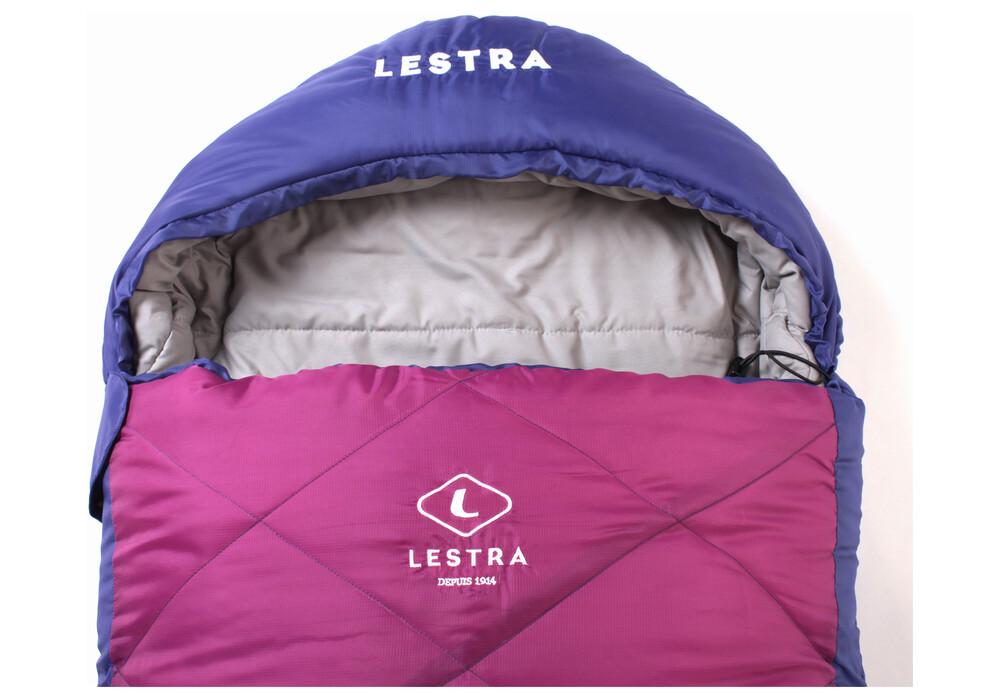 lestra athabaska junior sac de couchage enfant rose. Black Bedroom Furniture Sets. Home Design Ideas