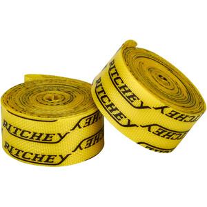 Ritchey Pro Snap On Cinta Llanta 700C 2 unidades, amarillo amarillo