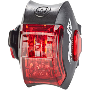Red Cycling Products Power LED USB Rear Light schwarz schwarz