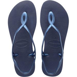 havaianas Luna Sandalen Damen blau blau