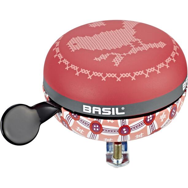 Basil Bohème Big Bell Bicycle Bell vintage red