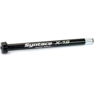 Syntace X-12 Schnellspann-Steckachse 197 raceblack raceblack