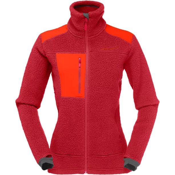 Norrøna Trollveggen Thermal Pro Jacket Dam jester red