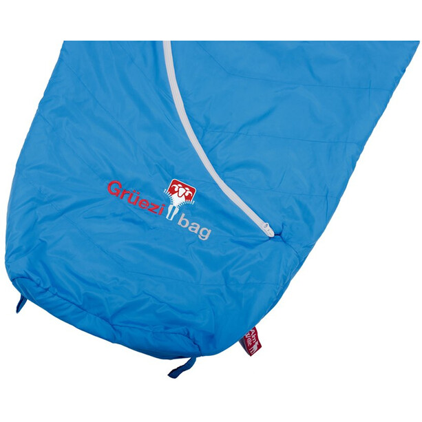 Grüezi-Bag Biopod Wool Plus Schlafsack imperial blue