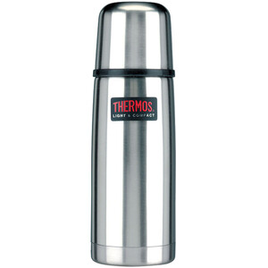 Thermos Light & Compact Thermos 0,35l brushed steel brushed steel