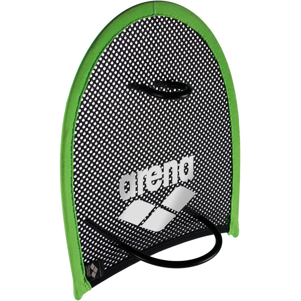 arena Flex Hand Paddle acid-lime/black