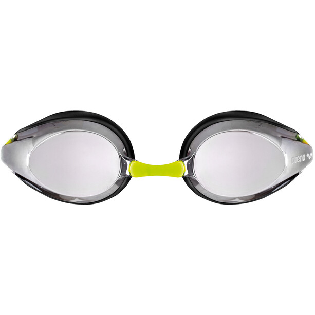 arena Tracks Mirror Brille Kinder silver-black-fluoyellow