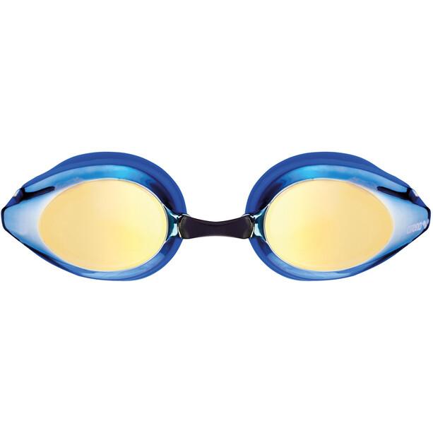 arena Tracks Mirror Goggles Kinder blueyellowrevo-blue-blue