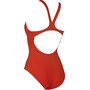 arena Solid Swim Pro One Piece Badeanzug Damen red-white