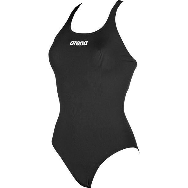arena Solid Swim Pro One Piece Badeanzug Damen black-white