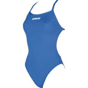 arena Solid Light Tech High One Piece Badeanzug Damen royal-white royal-white