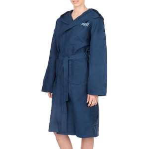 arena Zeal Bathrobe navy-white navy-white