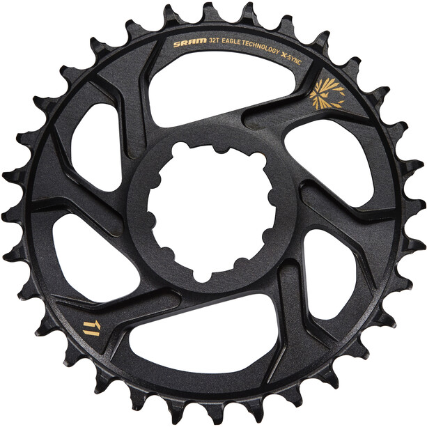 SRAM X-Sync 2 Chainring Direct Mount Aluminum 12-speed 6mm gold
