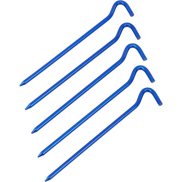CAMPZ Super Aluminium Ground Peg 18cm blue anodised