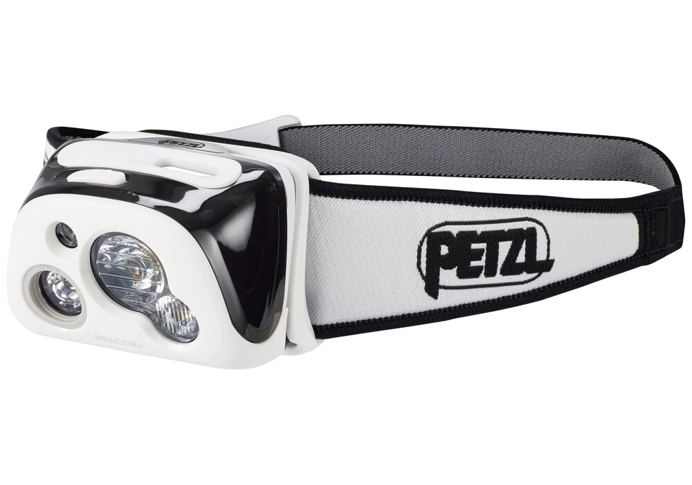 petzl reactik headlamp grey black at. Black Bedroom Furniture Sets. Home Design Ideas