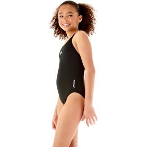 speedo Essential Endurance+ Medalist Badeanzug Mädchen black black
