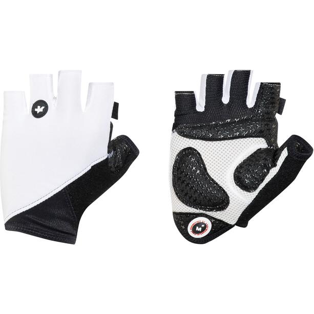 ASSOS summerGloves_S7, blanc/noir