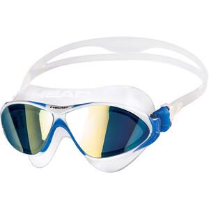 Head Horizon Mirrored Uimalasit, läpinäkyvä/sininen läpinäkyvä/sininen
