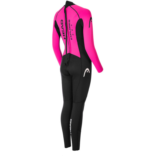 Head Expl**** 3.2.2 Wetsuit Women black/pink