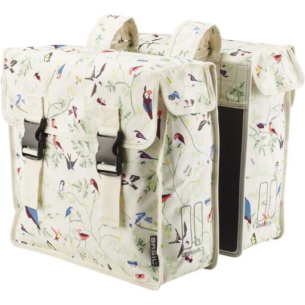 Basil Wanderlust Doppel-Gepäckträgertasche 35l ivory