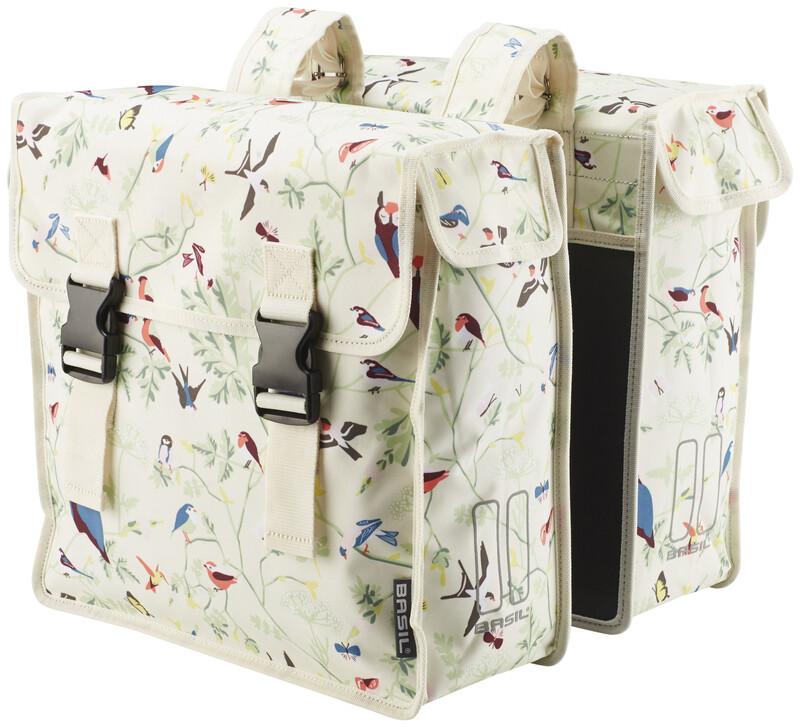 Wanderlust Doppeltasche ivory 2017 Gepäckträgertaschen