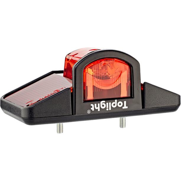 Busch + Müller Toplight Éclairage dynamo arrière, noir/rouge