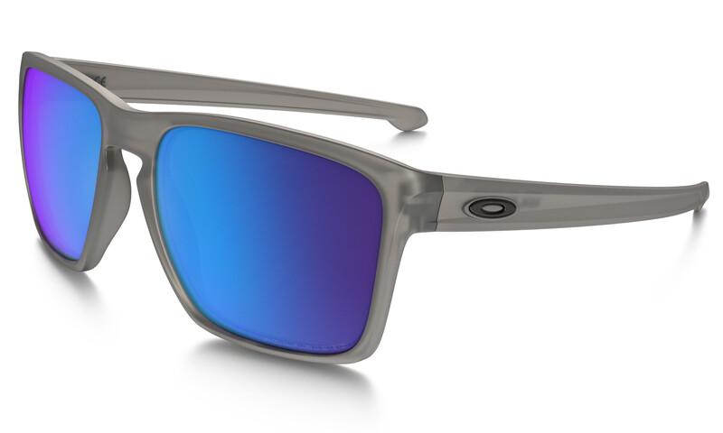 aaa3fc527baa Oakley Sliver XL Sykkelbriller Herre Grå Blå 2018 Solbriller