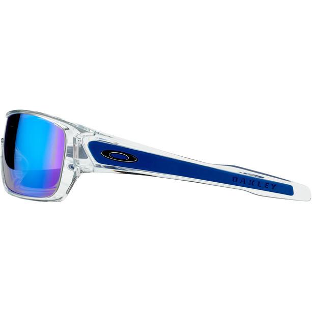 Oakley Turbine Rotor Lunettes de soleil, transparent/bleu
