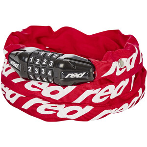 Red Cycling Products Secure Chain Ketjulukko Nollattava, red red