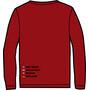 ÖTILLÖ Crew LS Shirt Dam burgundy
