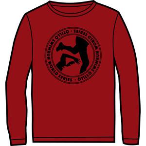 ÖTILLÖ Crew ls skjorte Dame rød rød