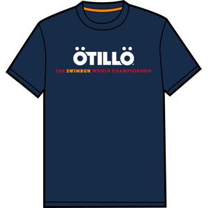 ÖTILLÖ T-shirt Design 1 Dame Blå Blå