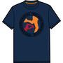 ÖTILLÖ T-shirt Design 2 Dam blå
