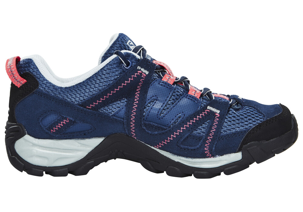 salomon kinchega chaussures femme bleu sur. Black Bedroom Furniture Sets. Home Design Ideas