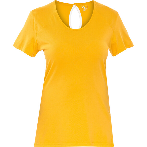 Haglöfs Apex T-shirt Femme, jaune