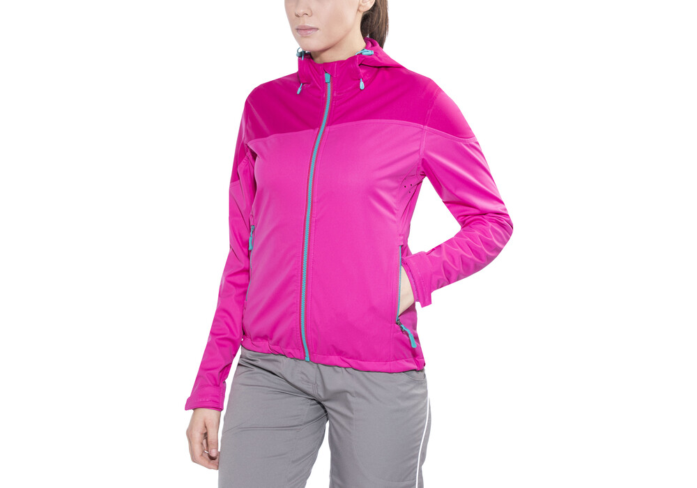 endura singletrack softshell jacke damen himbeerrot online. Black Bedroom Furniture Sets. Home Design Ideas