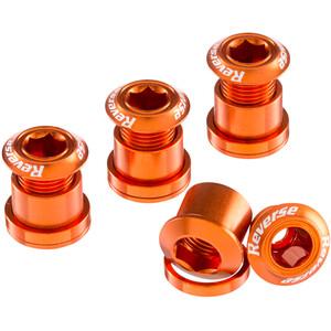 Reverse Kettenblattschrauben orange orange