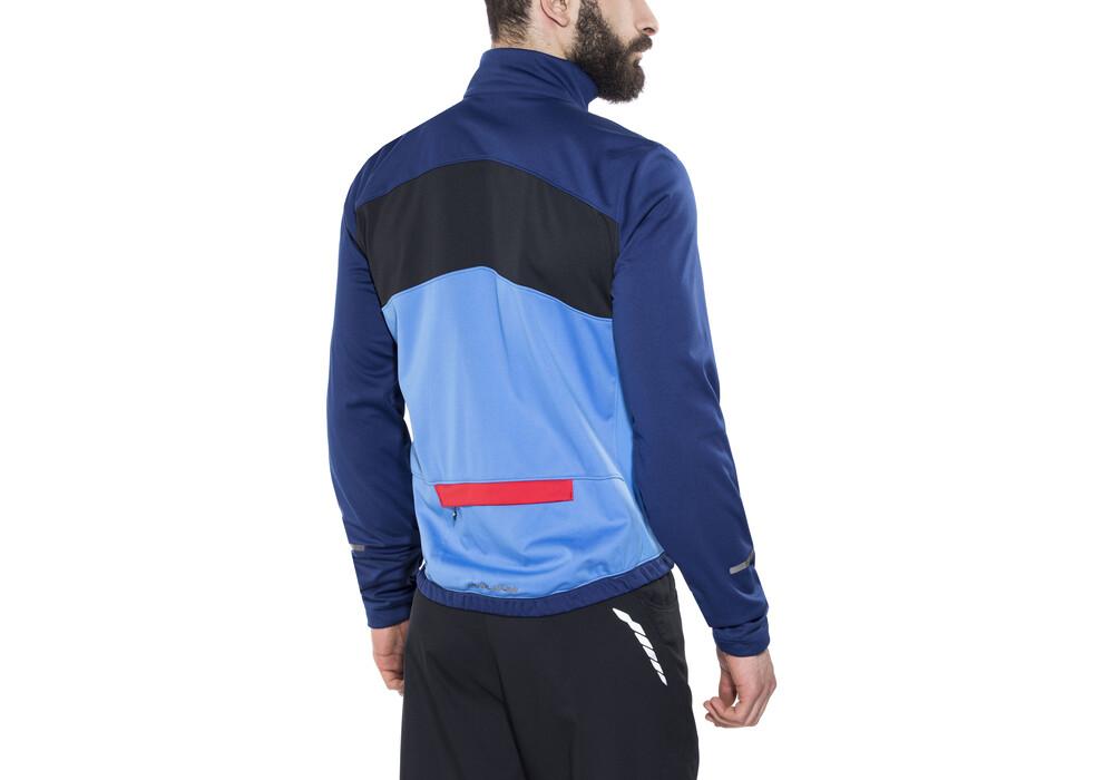 Pearl izumi select escape softshell jacket men blue x2 for Blue select