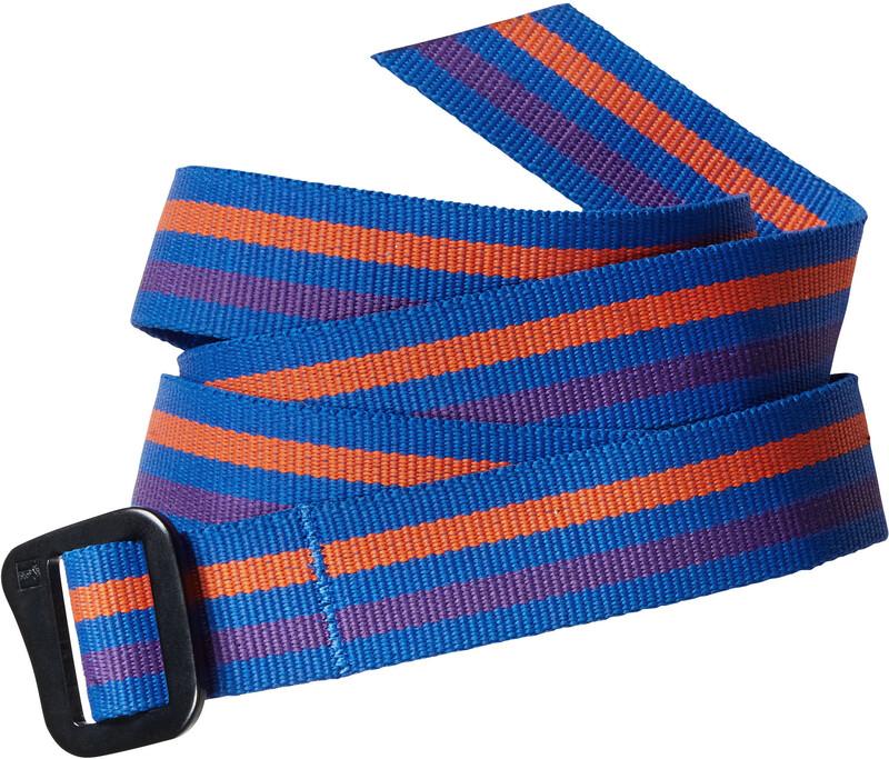 Patagonia Friction Belt Fitzroy Belt Stripe: Andes Blue one size 2019 Belter