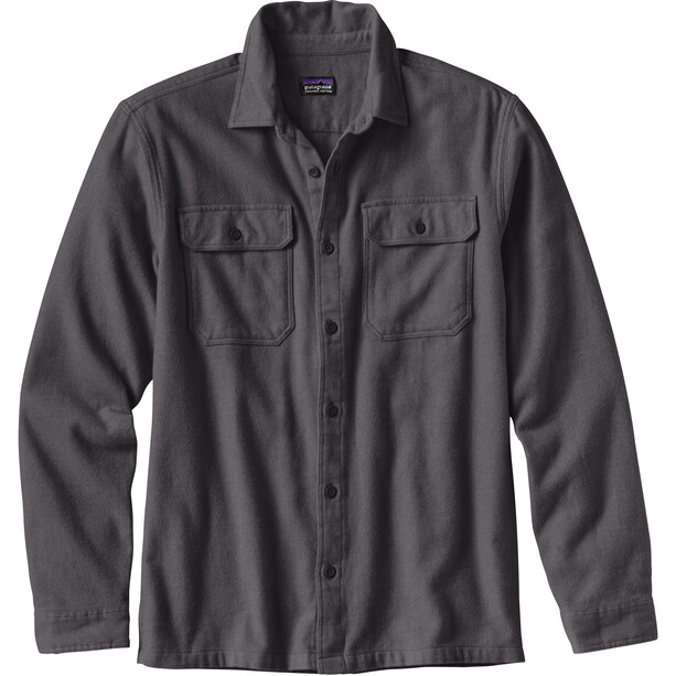 Patagonia Fjord LS Flannel Shirt Herr forge grey