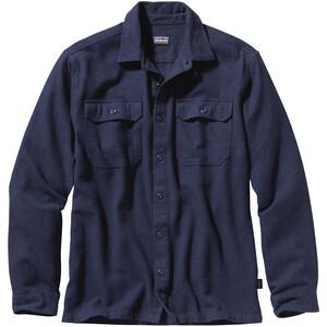 Patagonia Fjord LS Flannel Shirt Herr navy blue navy blue