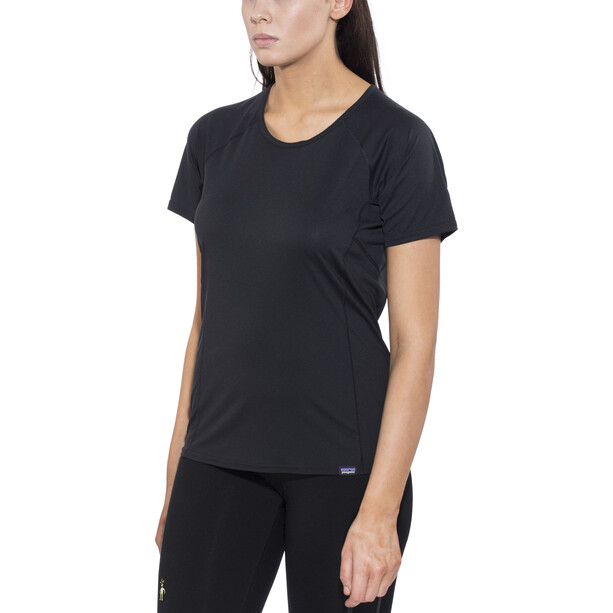 Patagonia Capilene Lightweight T-shirt Dam black