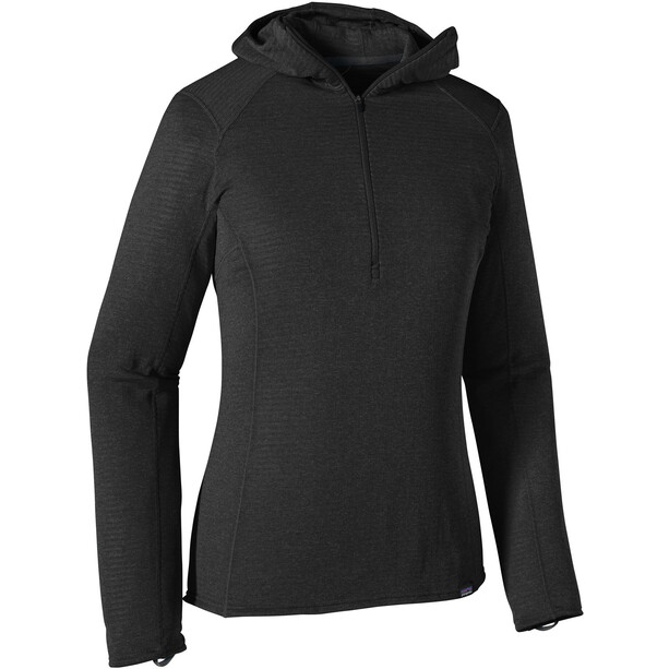 Patagonia Capilene Thermal Weight Zip Neck Hoody Dam black