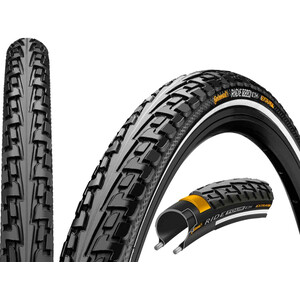 "Continental Ride Tour Clincher Tyre 28"" Reflex, black black"