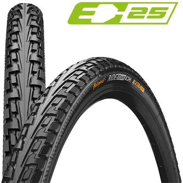 "Continental Ride Tour Clincher Tyre 28"", black"