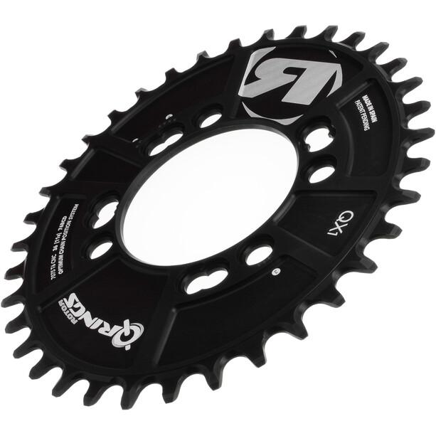 Rotor Q-Ring QX1 MTB Kettenblatt 76mm 1-fach schwarz
