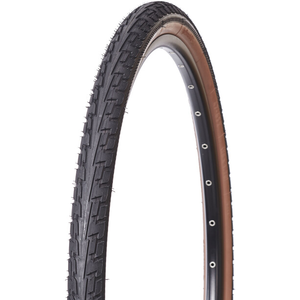 "Continental Ride Tour Clincher Tyre 28"", brown/brown"